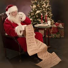 Letters to Santa?  What are you Waiting For?