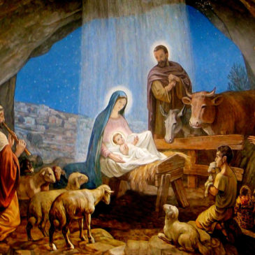 Manger Filled with Loved That Blessed Night